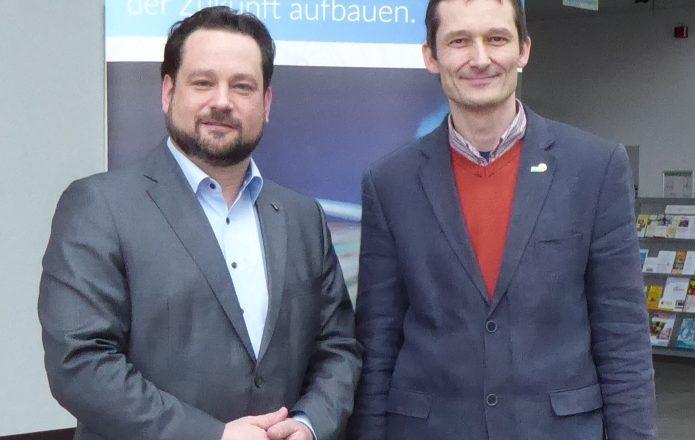 Minister Alex Bonde und Hermino Katzenstein