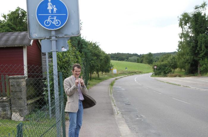16.06.27_ Rad-:Fußweg Ortsausgang Helmhof Richtung Untergimpern _heb