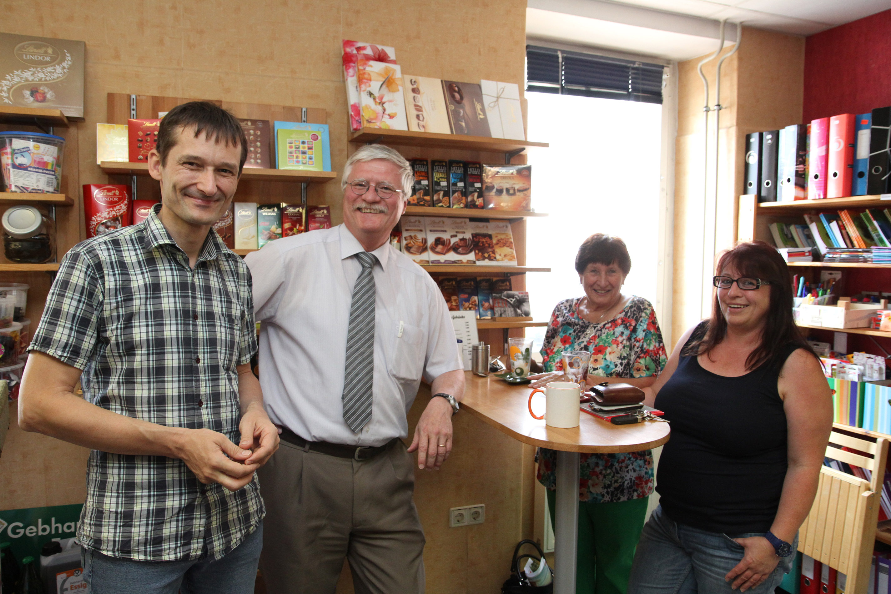 Besuch im Dorfladen Pluspunkt in Epfenbach