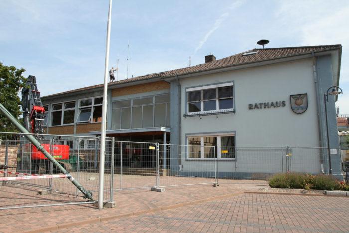 Epfenbach Rathaus wird saniert