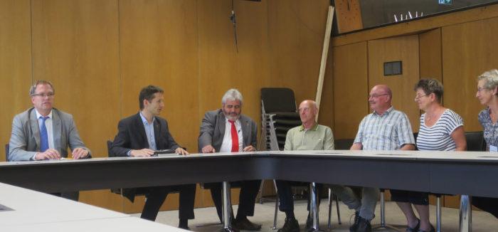 Abgeordnetengespräch mit Besuchergruppe der VHS Sinsheim