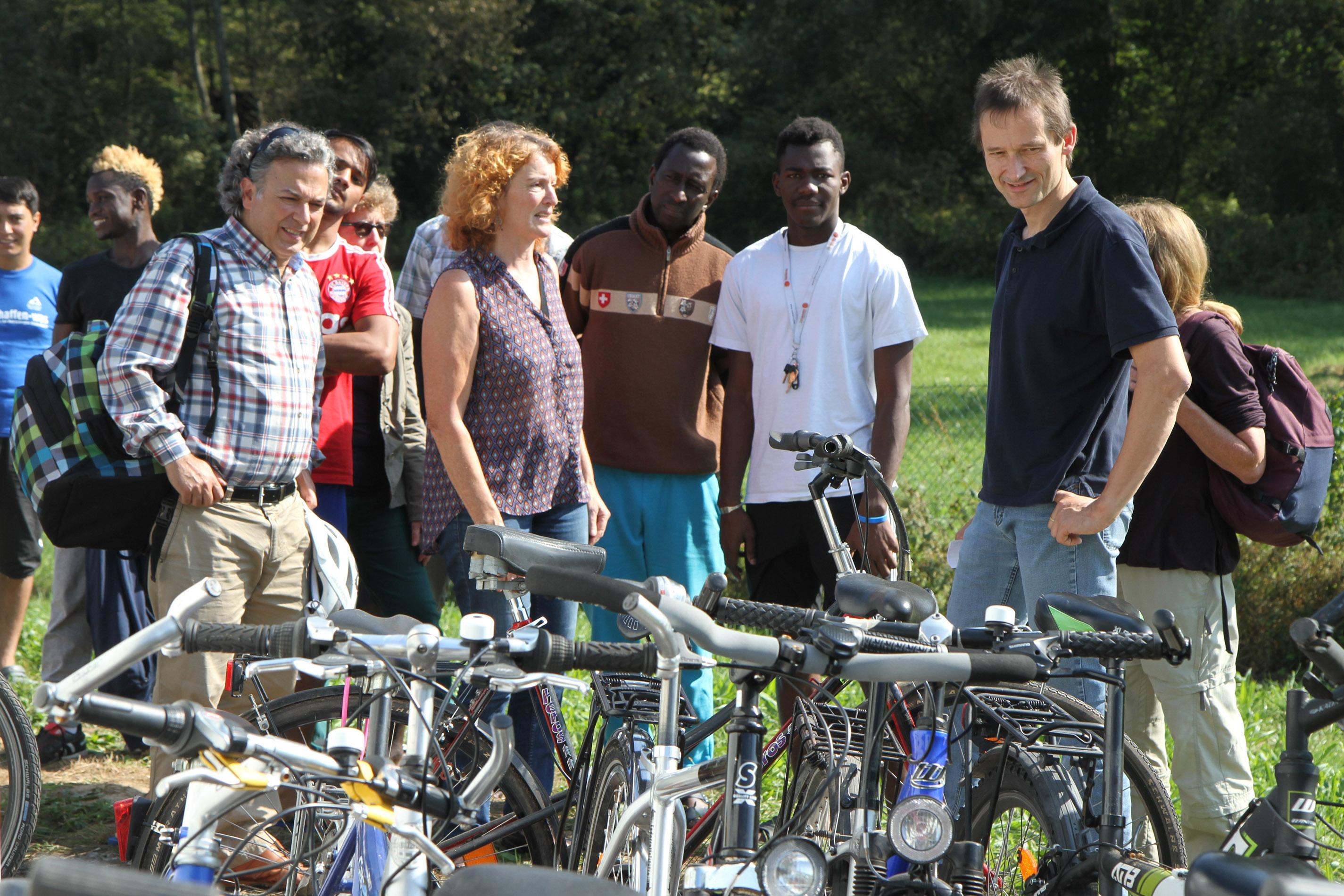 Wohin mit den Fahrrädern?