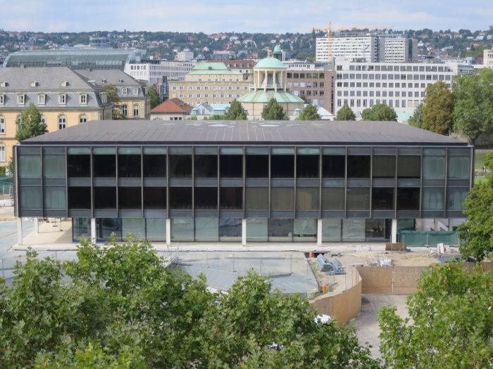 Der Landtag in Stuttgart.