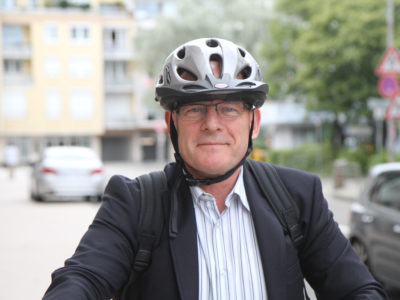"Verkehrsminister Winfried ""Winne"" Hermann."