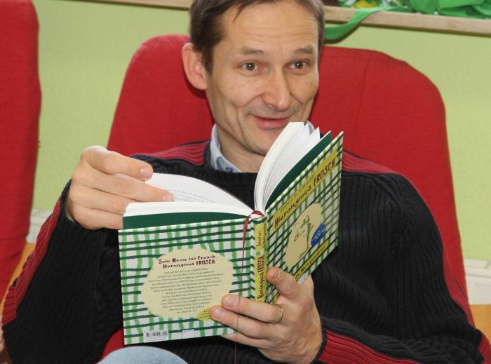 Vorlesetag an der Montessori Schule Zuzenhausen.