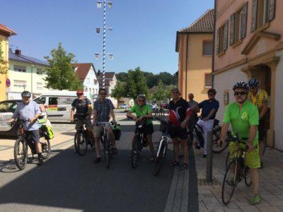 Fahrradschnitzeljagd Meckesheim. Bild: privat